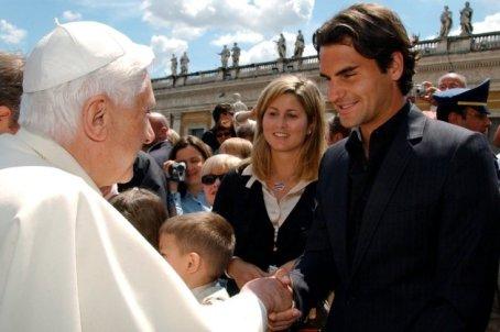 federer pope