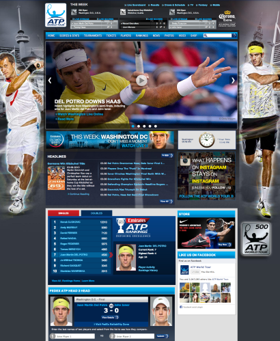 JMDP - ATP World Tour  Official Site of Men s Professional Tennis